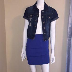 Indigo Rein jeans jacket size S
